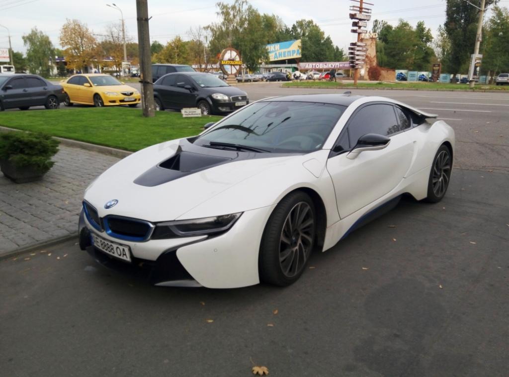 BMW I8 из Миссия невыполнима