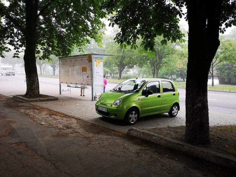 Daewoo Matiz с номером АЕ 22 44 ІВ