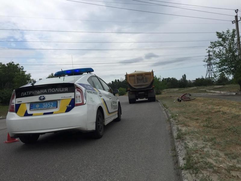 В Приднепровске грузовик сбил велосипедиста