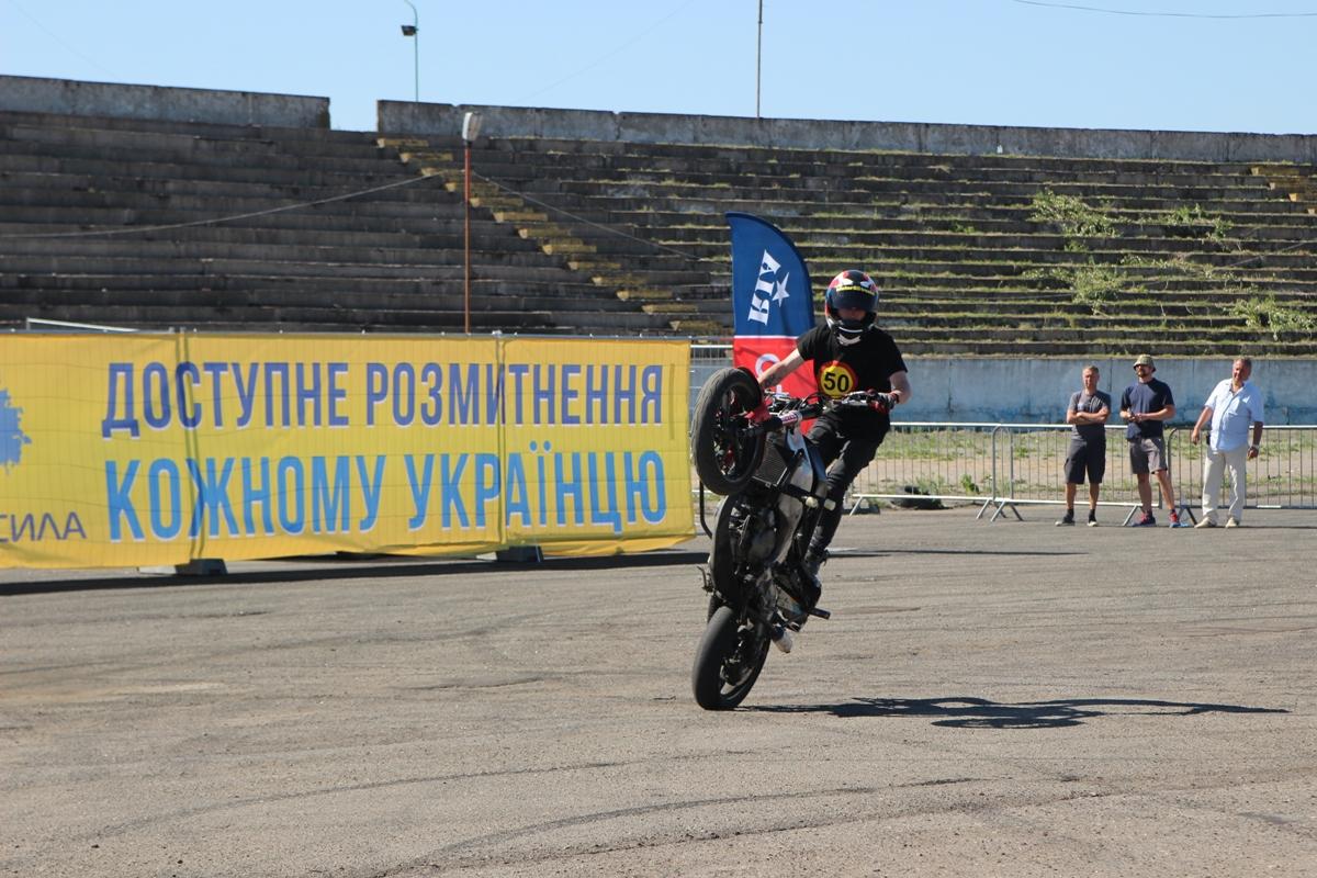 Стант-шоу от мотоциклистов