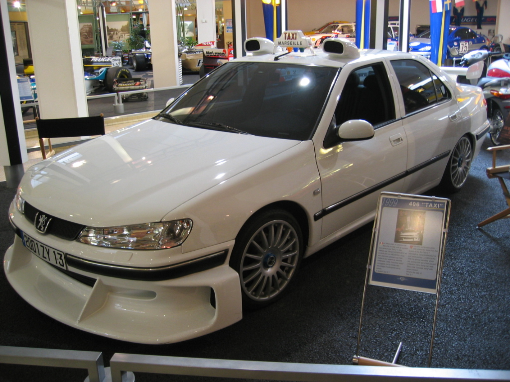 "Легендарная Peugeot 406 из ""Такси"""