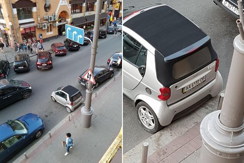 Mercedes-Benz SMART с номером АА 6132 ОВ