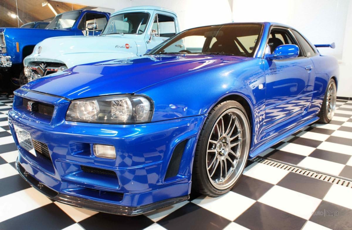 "Nissan Skyline GT-R R34 из ""Форсаж-4"""