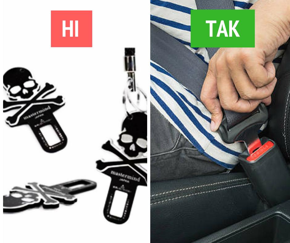 Совет от Авто Информатора: пристегивайтесь!