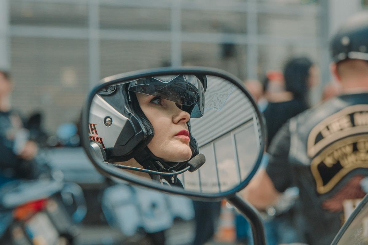 Как оказалось, Harley-Davidson водят не только бородатые мужики