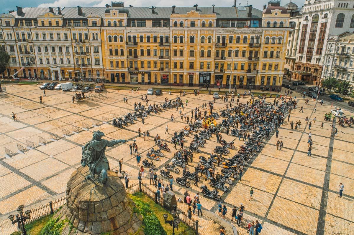 Полный состав собрался на Софиевской площади