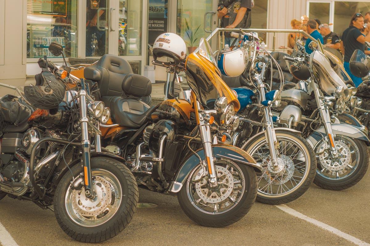 В каждом современном байке от Harley-Davidson просматривается тот самый классический стиль