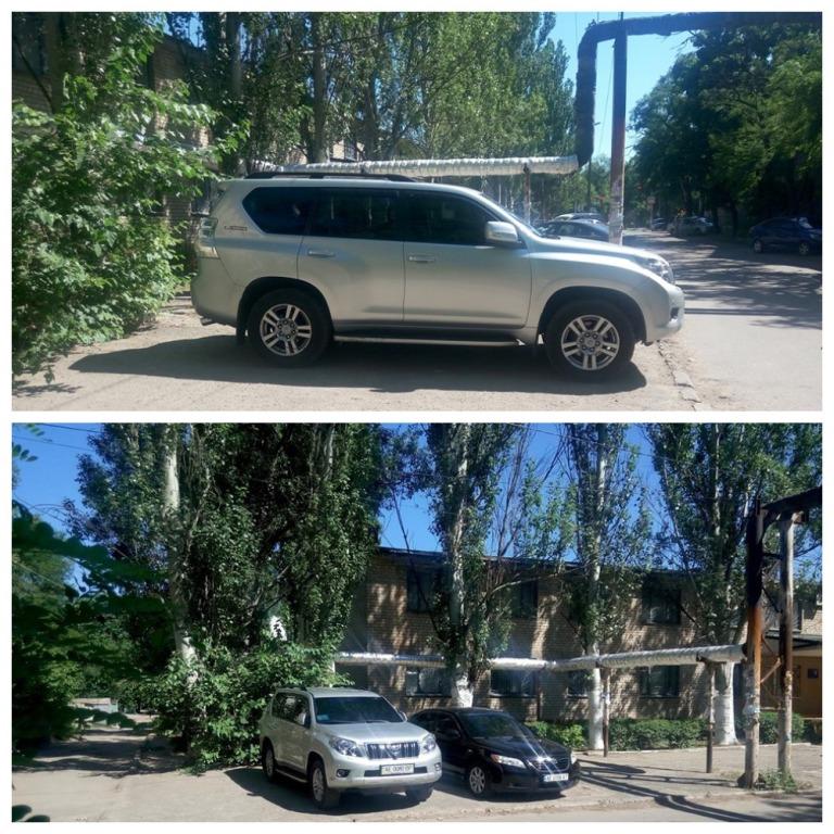 Toyota Land Cruiser Prado с номером АЕ 0080 ВР и Toyota Camry с номером АЕ 0008 АТ