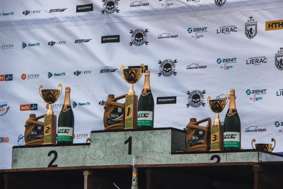 А вот и трофеи