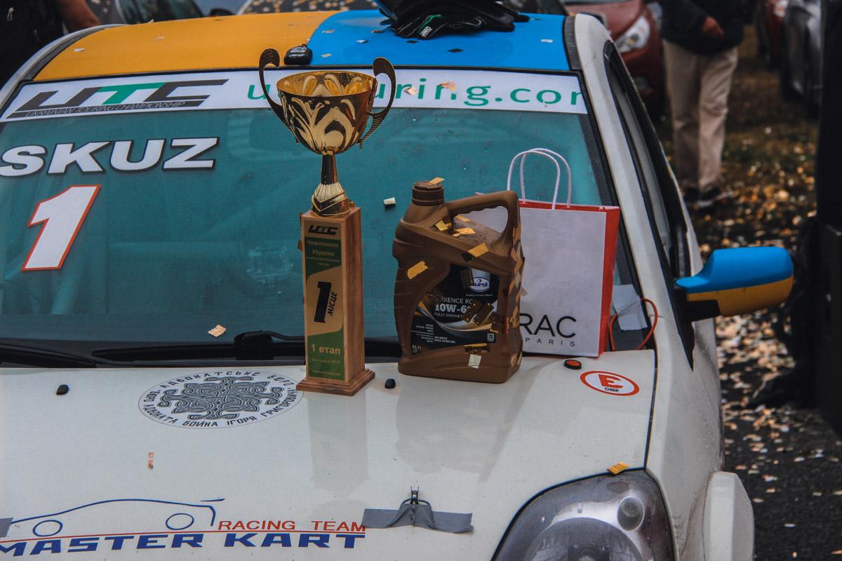 Авто победителя