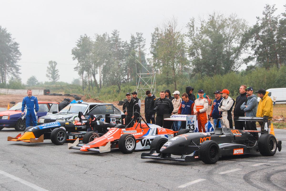 Участники категории Formula