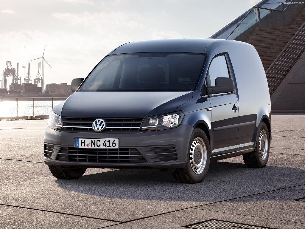 Один из самых популярных фургонов - Volkswagen Caddy