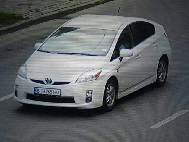 Автомобиль, который был угнан в ночь на 27 июля