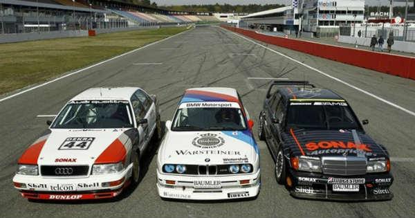 Главные конкуренты DTM 1991
