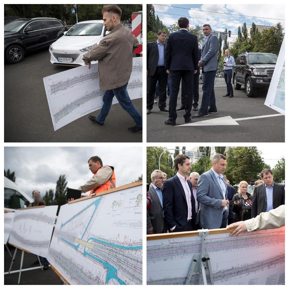 Мер Киева контролирует соблюдение проекта