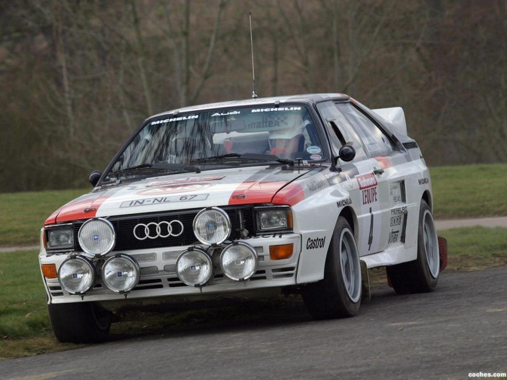 Audi 80 Coupe Quattro Rally