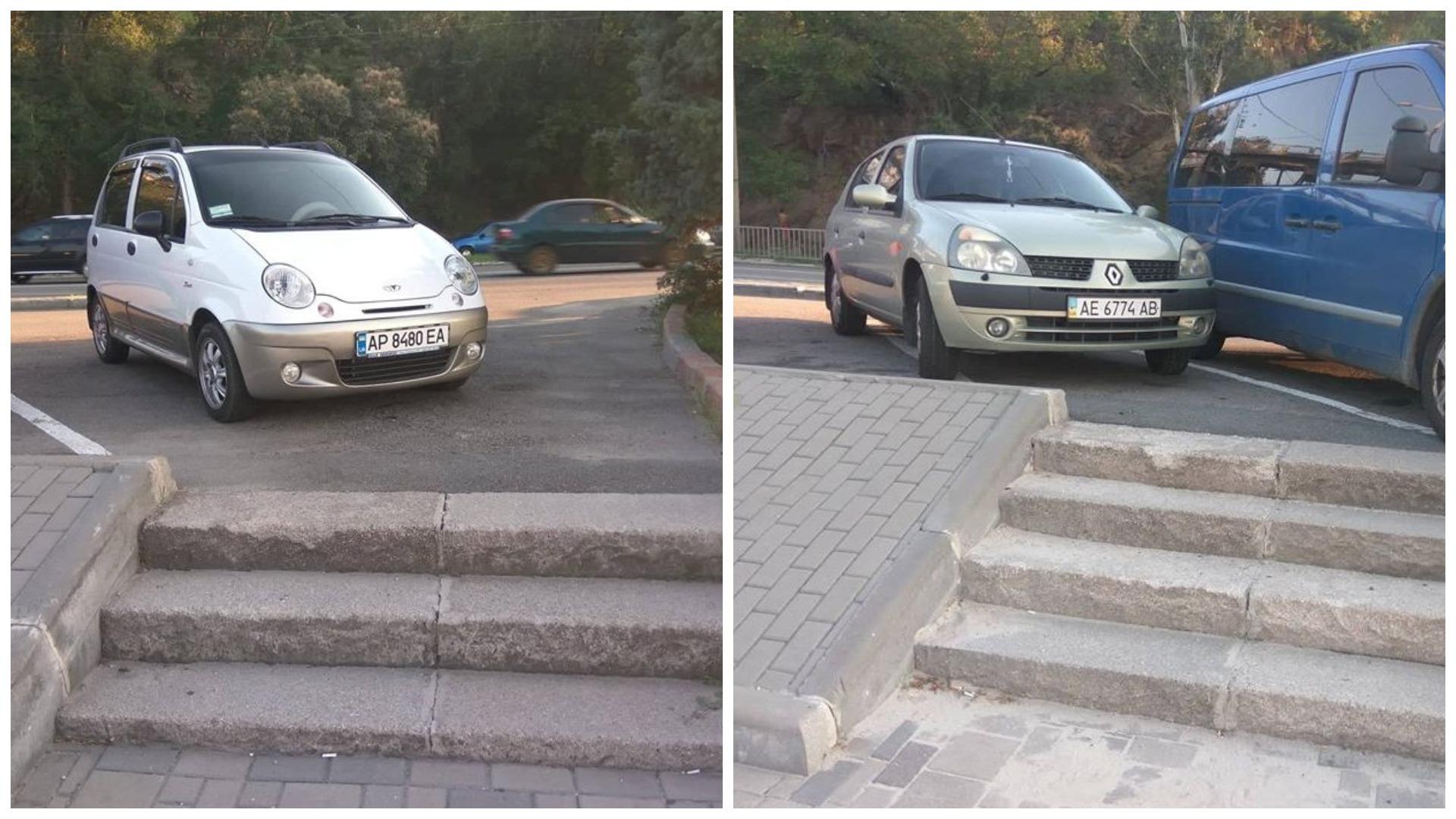 Daewoo Matiz с номером АР 8480 ЕА и Renault Clio с номером АЕ 6774 АВ