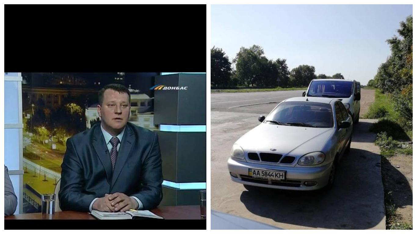 Сергей Мандрыка находился за рулем служебным автомобиля Daewoo Lanos в состоянии алкогольного опьянения