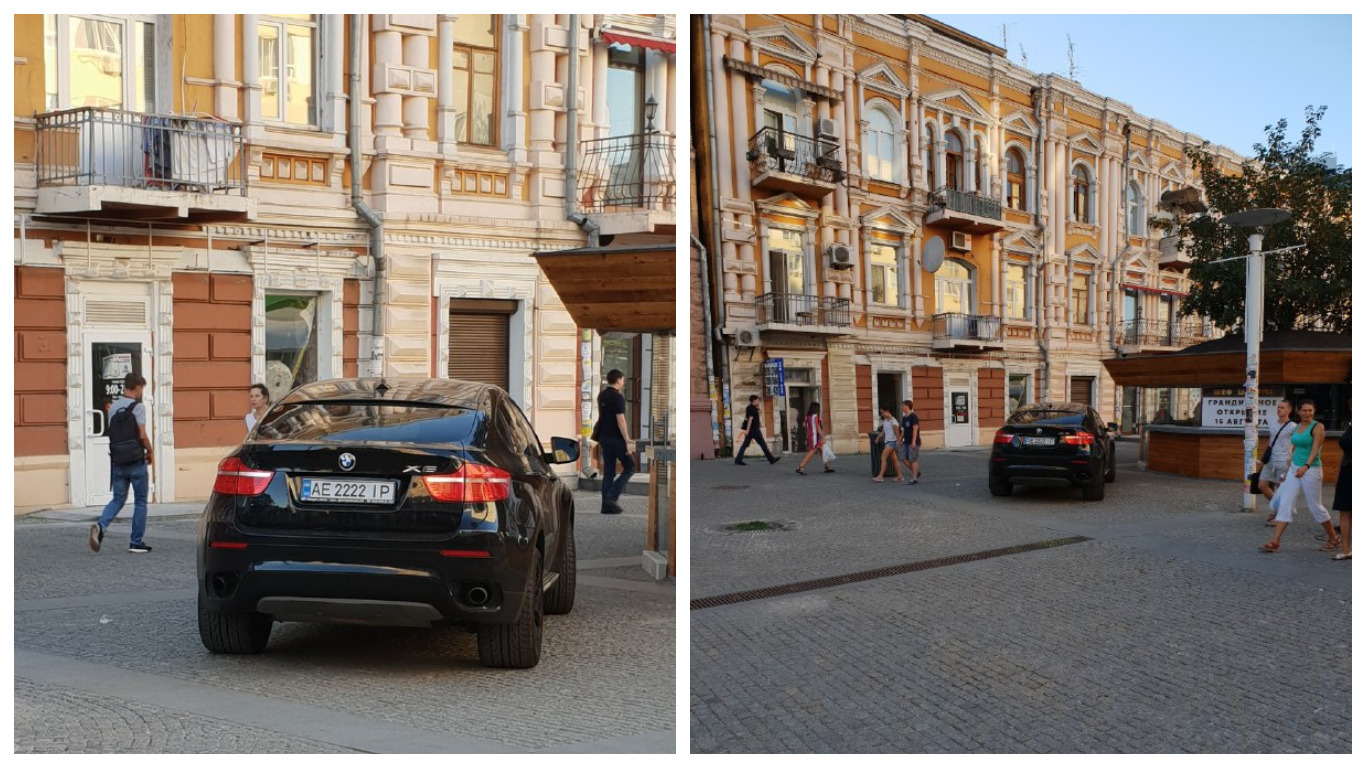 BMW X6 с элитным номером АЕ 2222 ІР