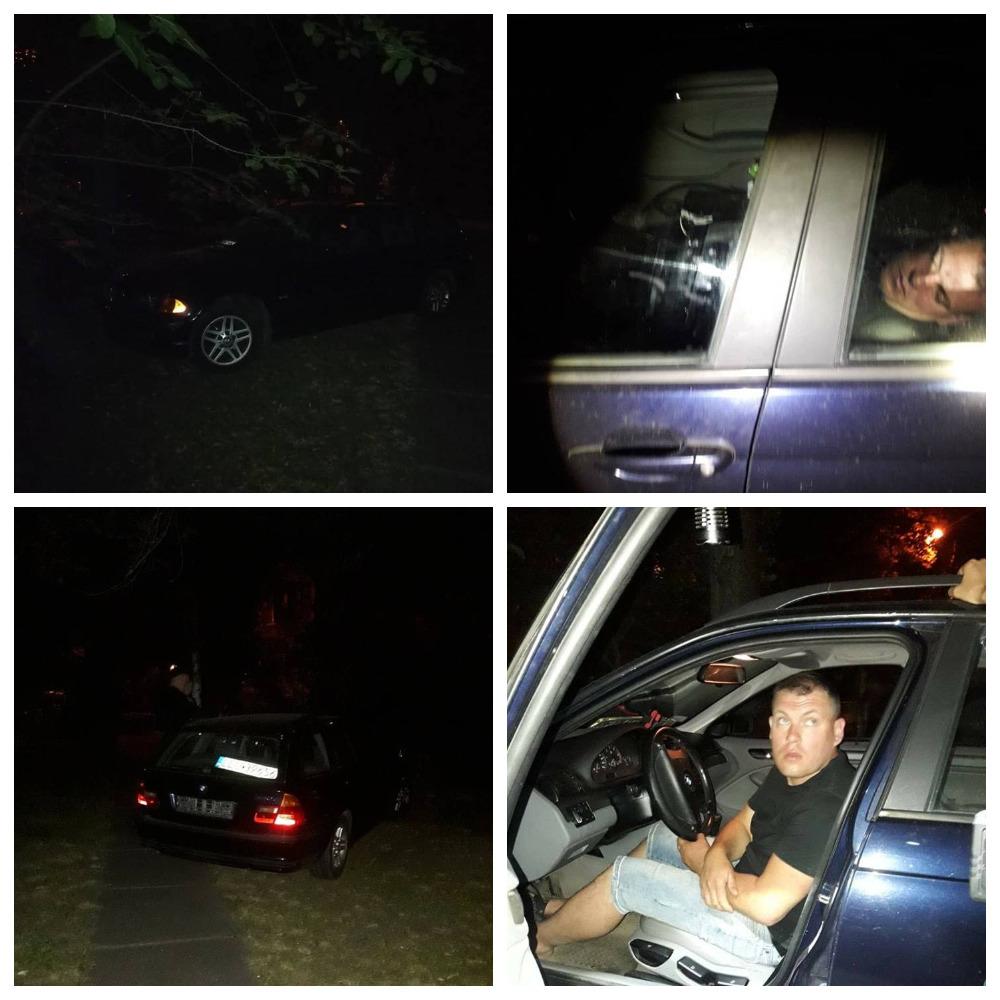На Русановке задержали водителя BMW, который был настолько пьян, что не мог даже говорить.