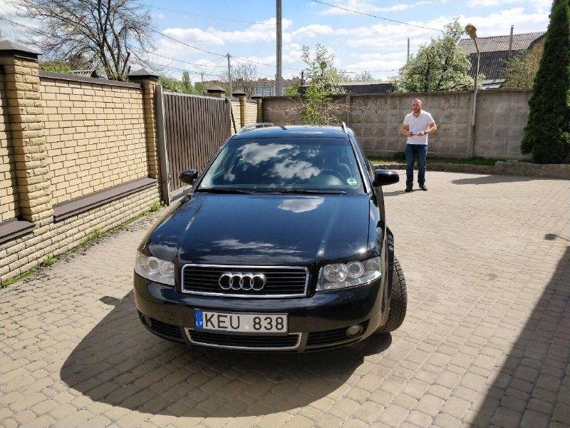 Угнанная Audi A4