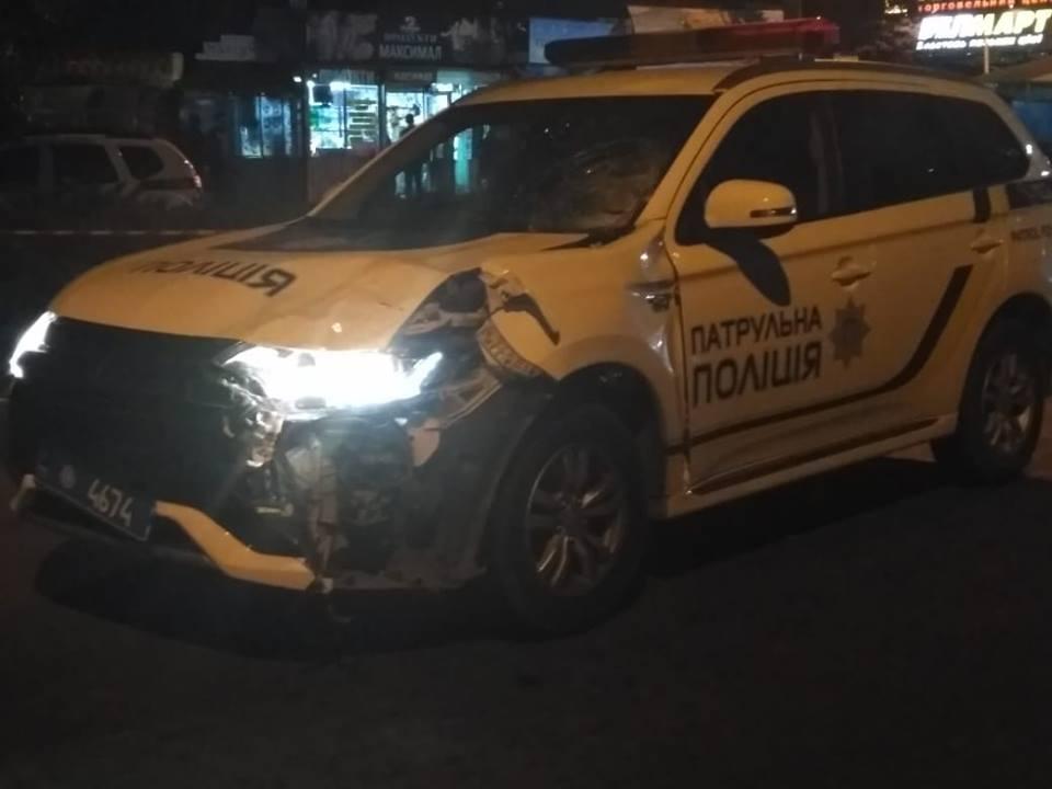 Авария произошла в Черновцах