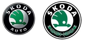 1994 - 2011. Слева логотип кампании, справа - устанавливаемый на автомобили