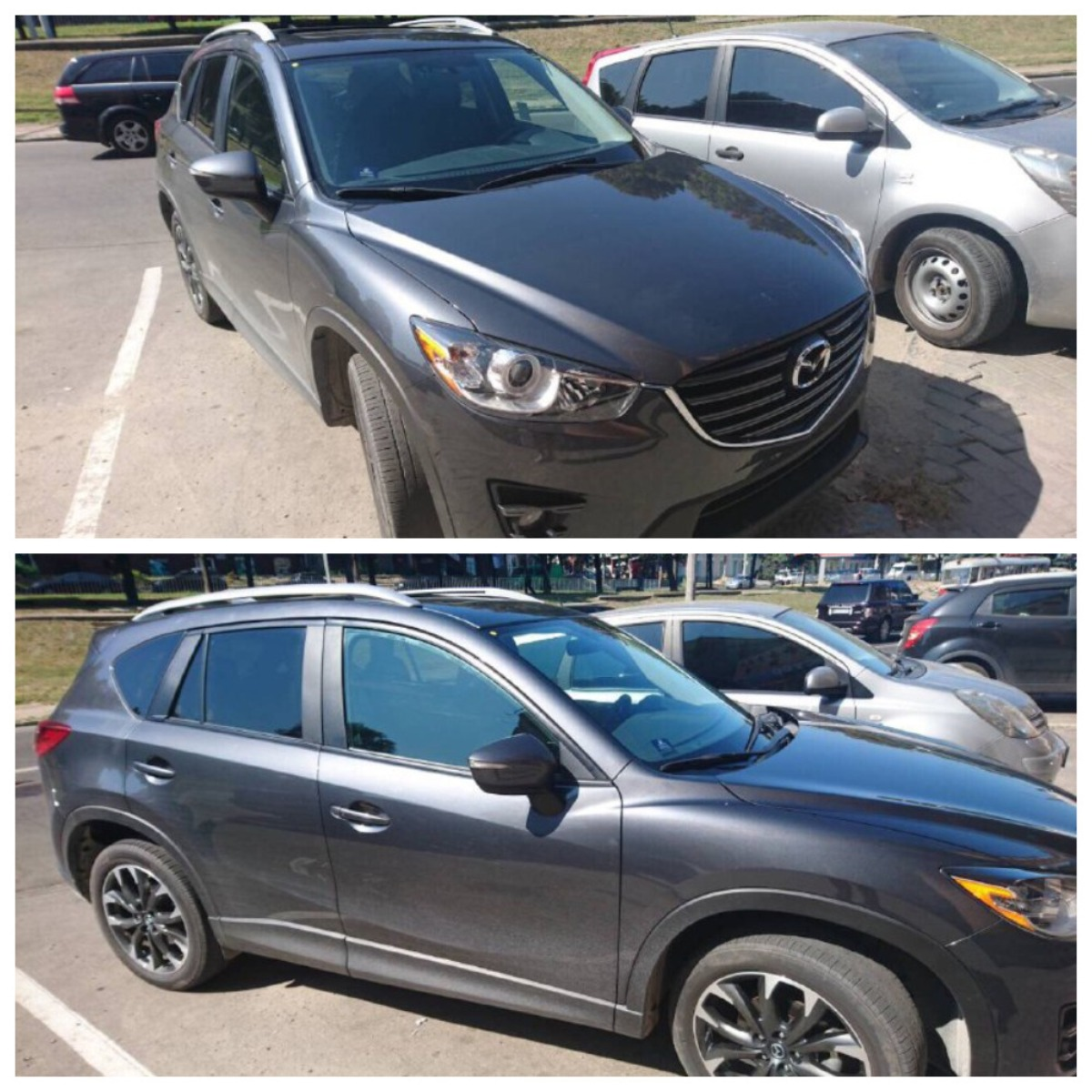 ВКиеве угнали Mazda CX 5