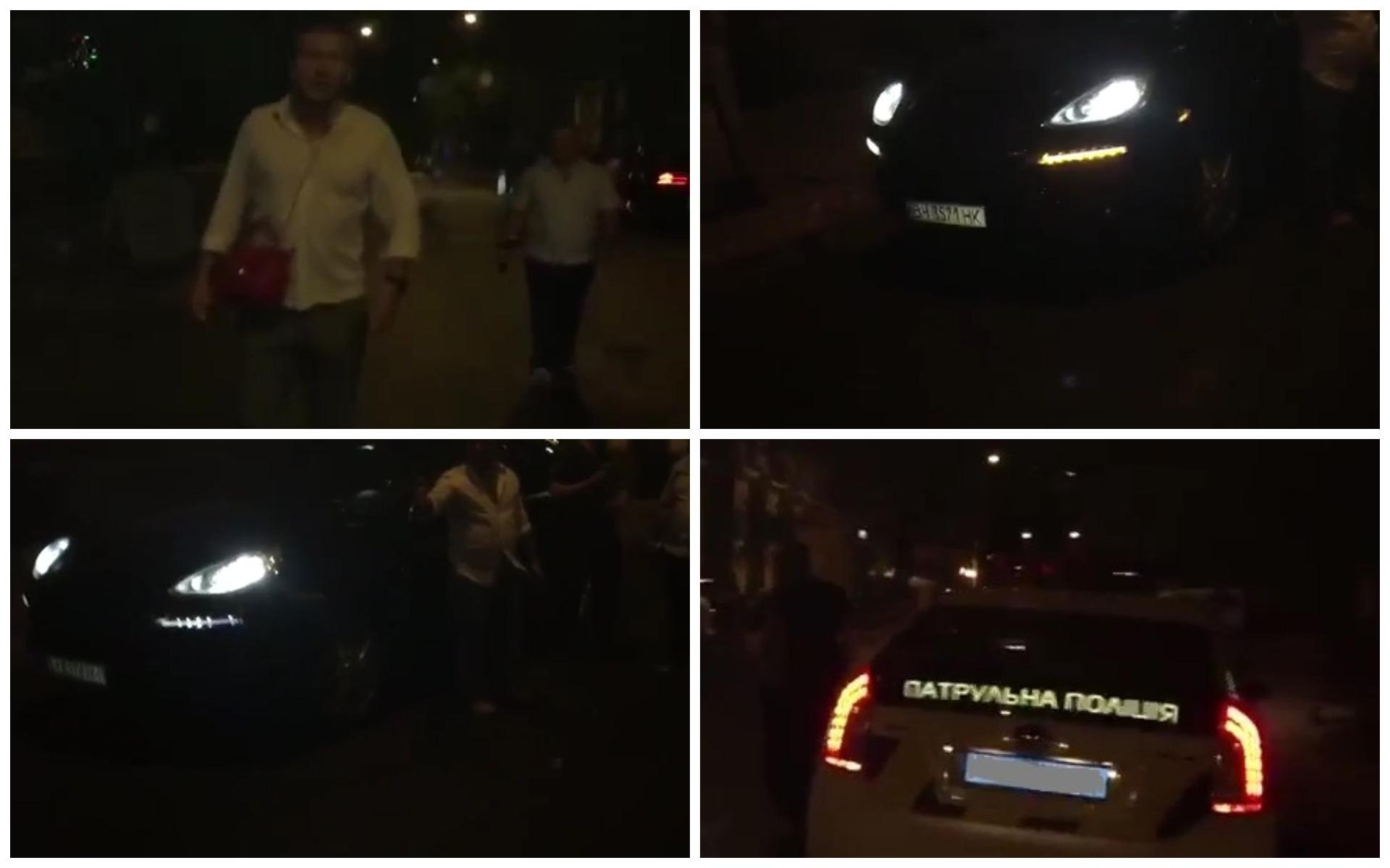 В Одессе задержали пьяного водителя Porsche Cayenne