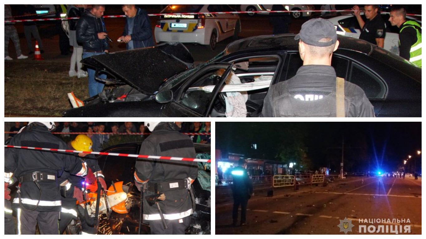 В результате аварии три человека погибли и пять получили травмы.