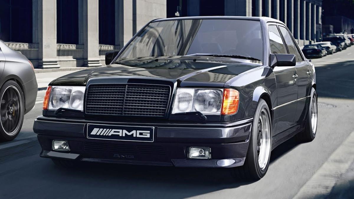 Mercedes Benz E60 AMG W124
