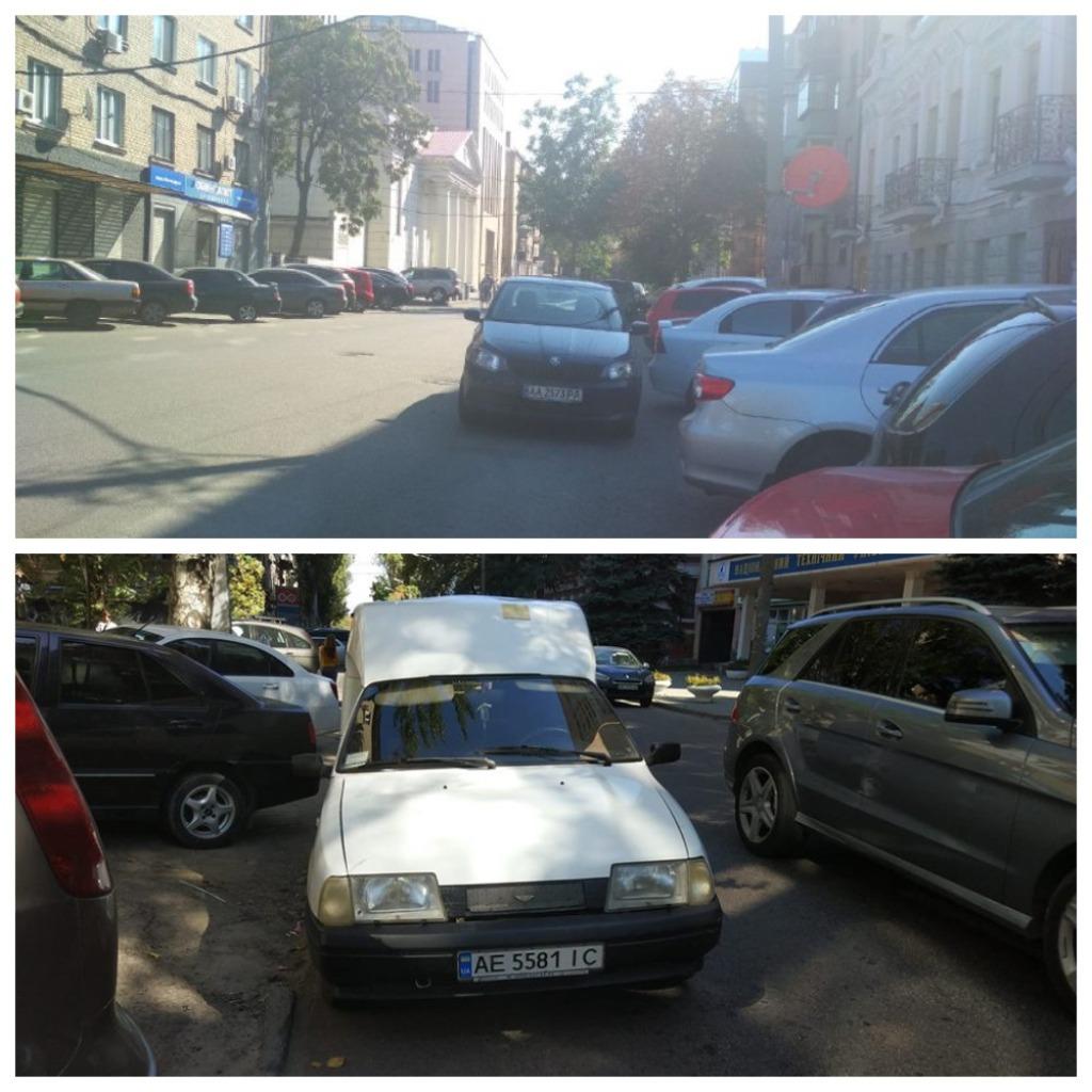 Другие же авто своей парковкой блокируют выезд