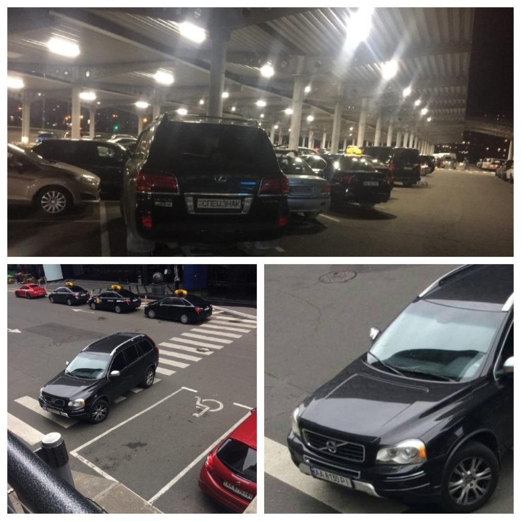 У водителей внедорожников свои правила парковки