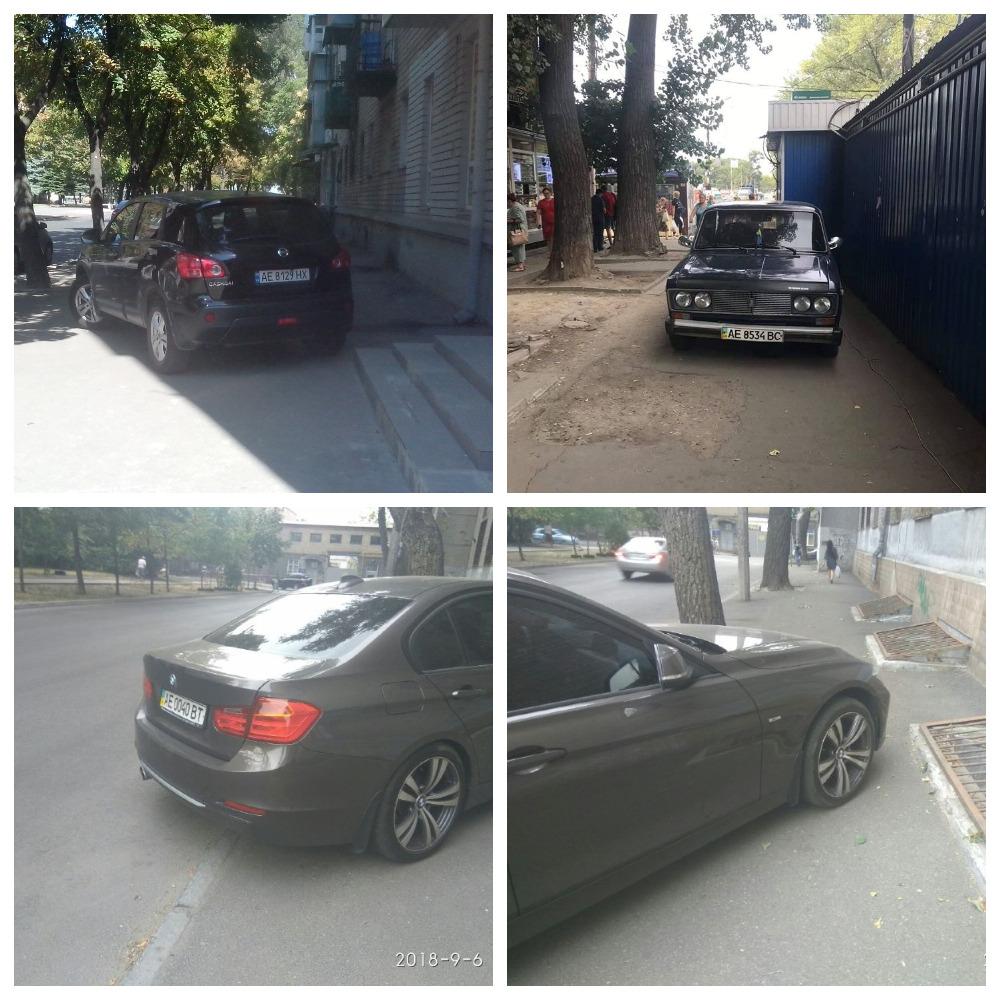 Nissan Qashqai с номером АЕ 8129 НХ, BMW 3-series с номером АЕ 0040 ВТ и ВАЗ 2106 с номером АЕ 8534 ВС