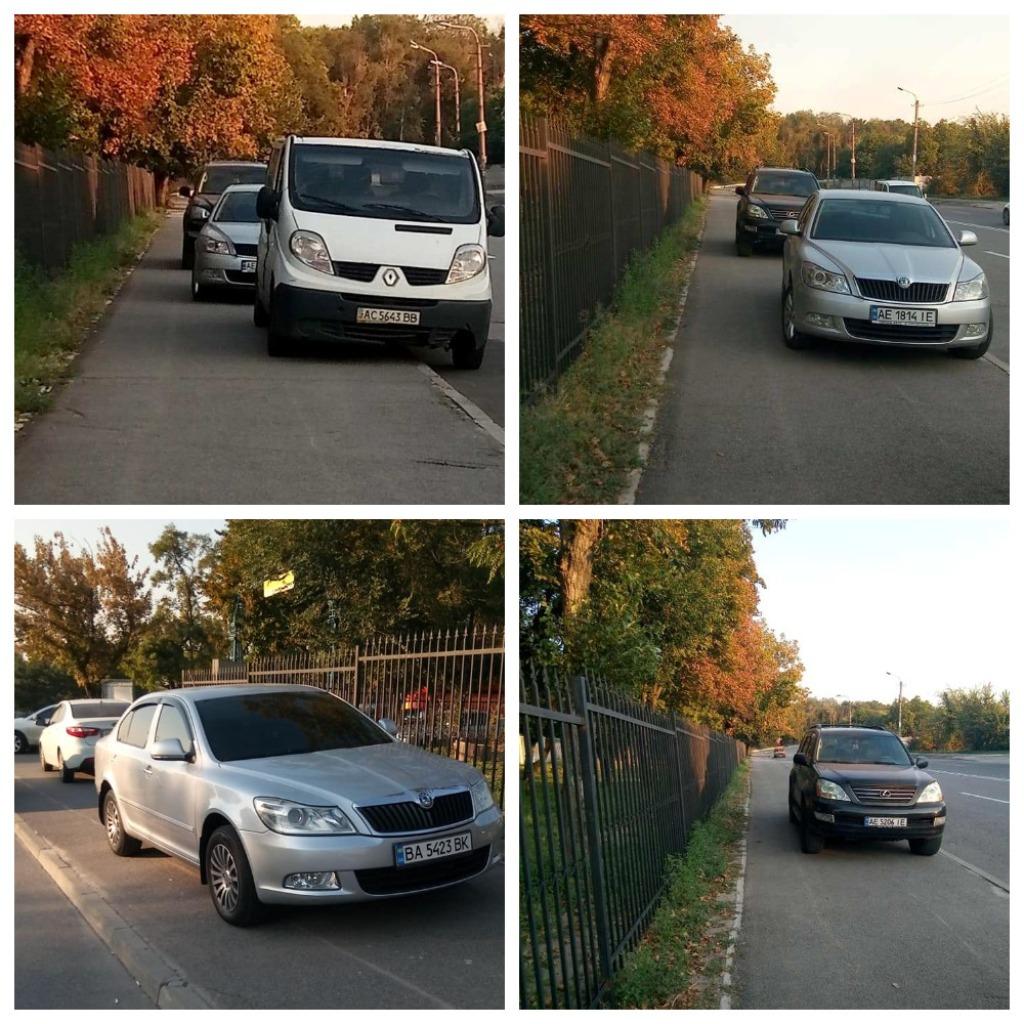 Еще одни любители парковки на тротуарахВВ