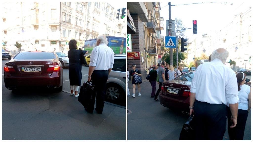 Подумаешь, пешеходы идут по тротуару