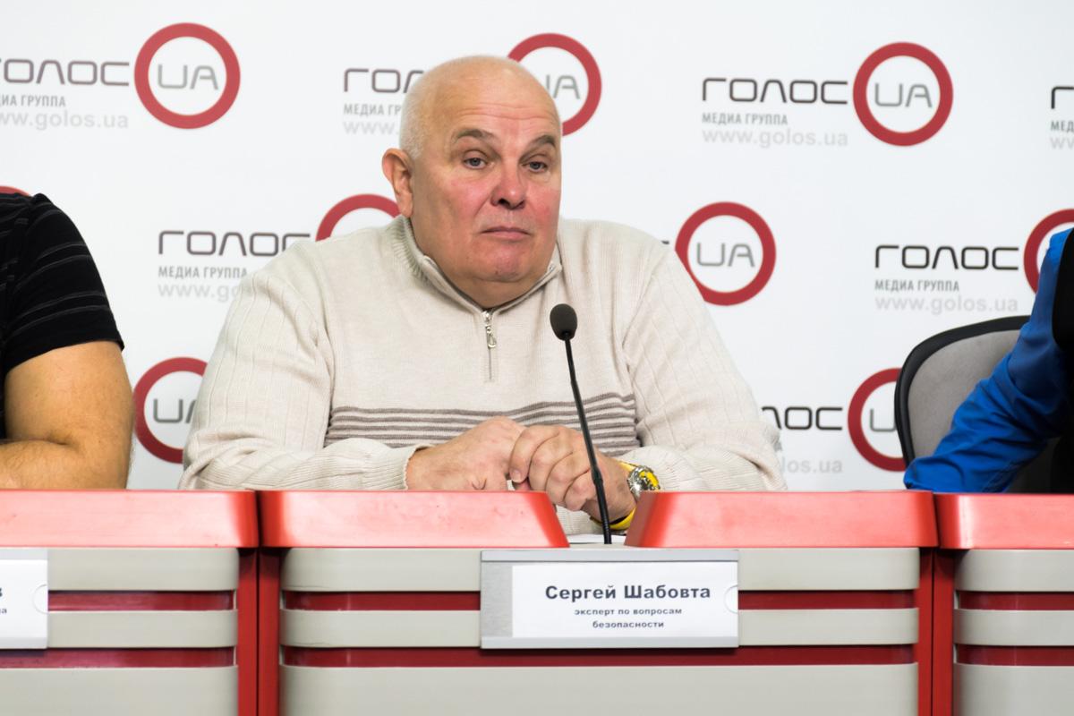 Эксперт по вопросам безопасности Сергей Шабовта