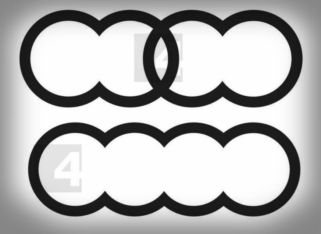 Audi запатентовала два логотипа