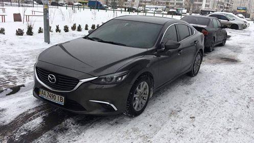 Угнанная Mazda 6
