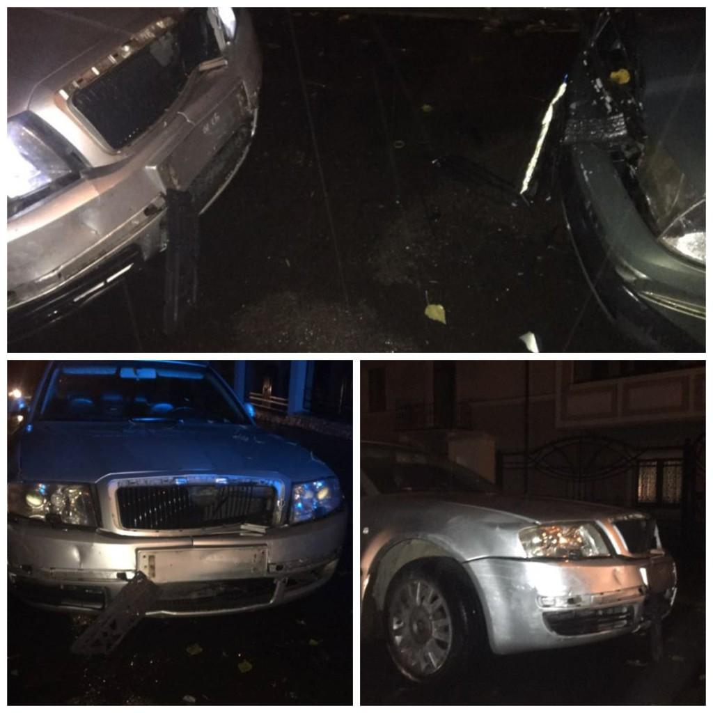 Во Львове пьяный водитель стал виновником ДТП