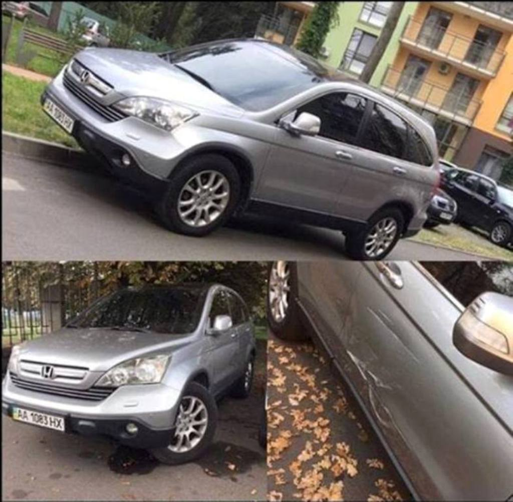 На улице Житкова угнали Honda CR-V