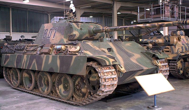 "Cредний танк PzKpfw V ""Panther"" фирмы MAN"