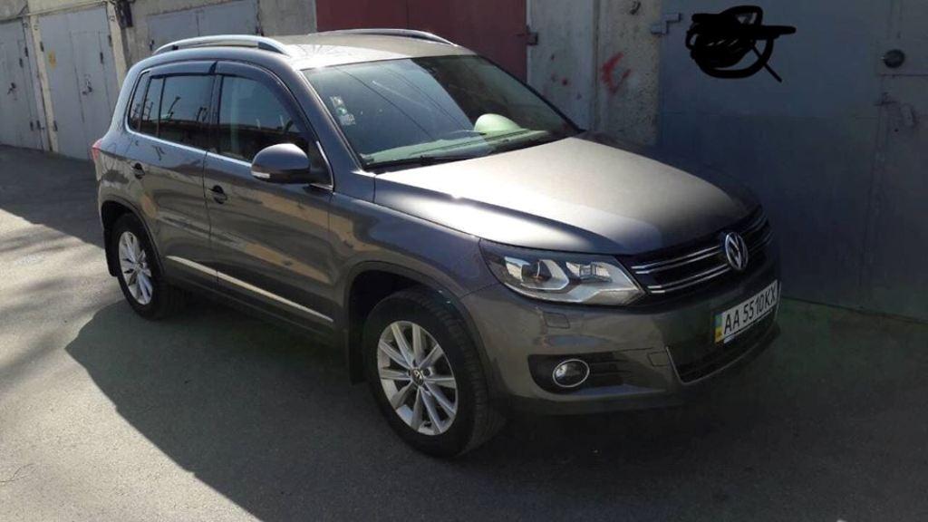 В Киеве угнали Volkswagen Tiguan