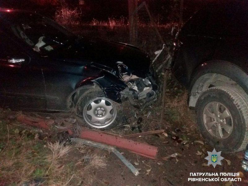 В результате аварии повреждения получили еще два авто