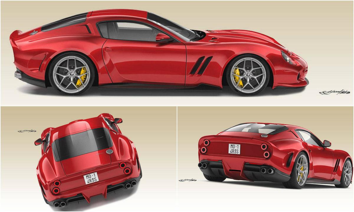 Суперкар Ferrari 250 GTO