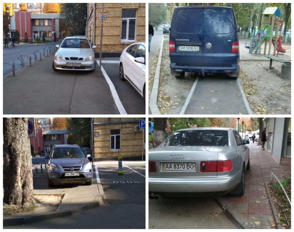 Припарковались и не подумали о комфорте пешеходов