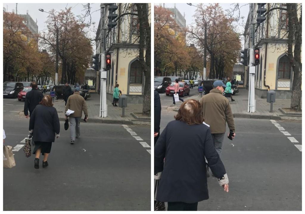 Пешеходы нарушают ПДД