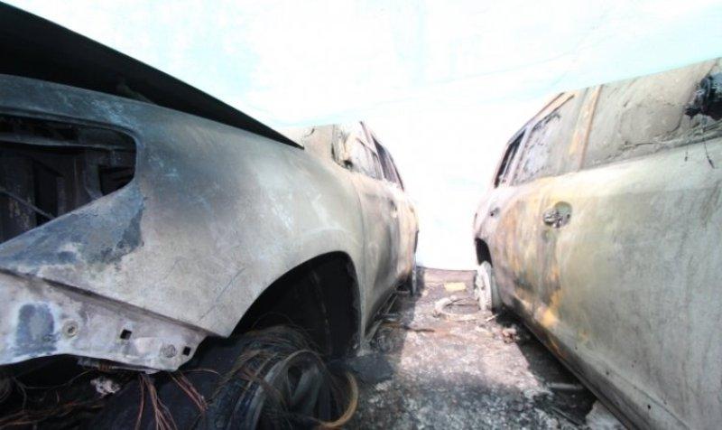 Стихия уничтожила сотни автомобилей Maserati