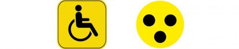 """Знак """"Инвалид за рулем"""" и """"Глухой водитель"""""""