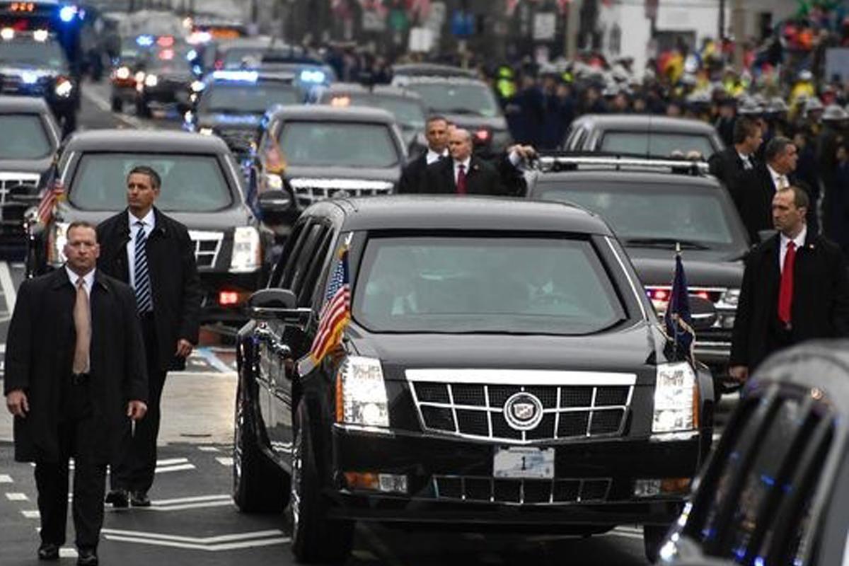 Cadillac-броневик Трампа скрывает много секретов